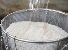 02 洗米・浸水